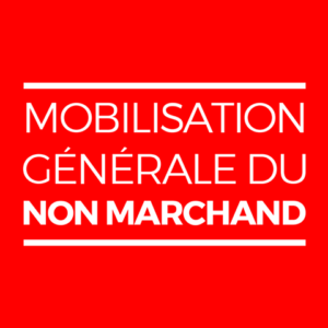 Page Facebook Mobilisation générale du non Marchand