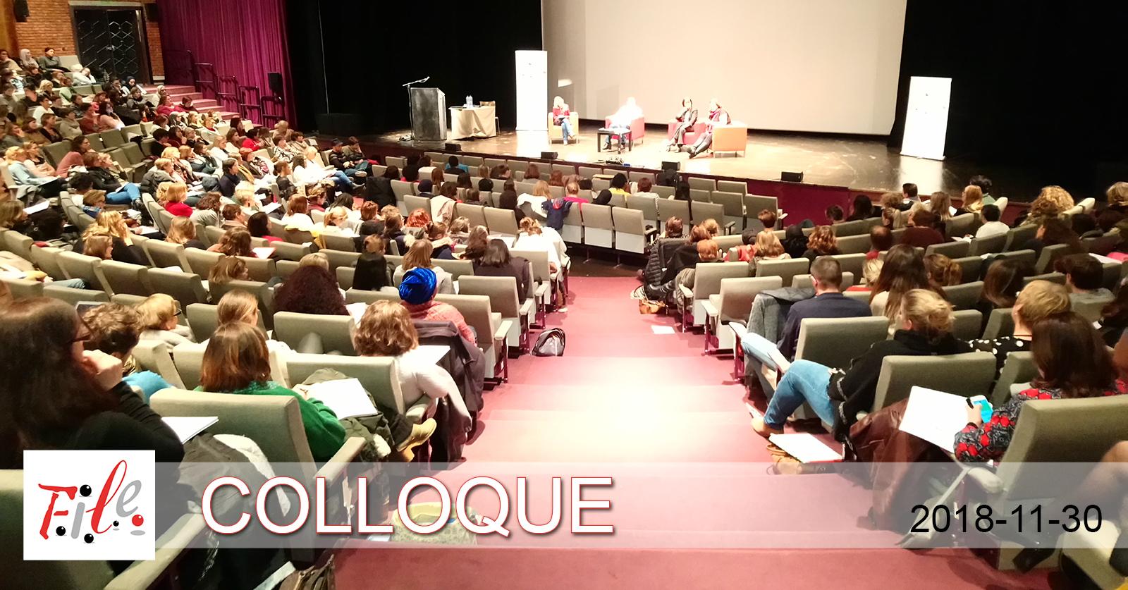 Salle comble et audience attentive à La Marlagne pour le colloque de la FILE.