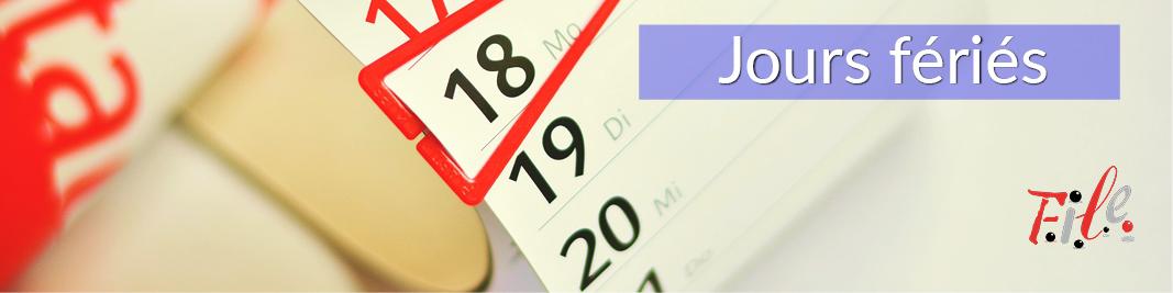 2020 Site article 800x200 Jours fériés