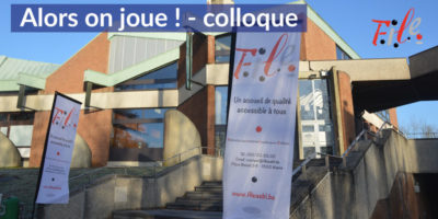 Colloque Alors on joue !