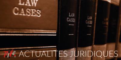 2020 A la une Actu Juridiques
