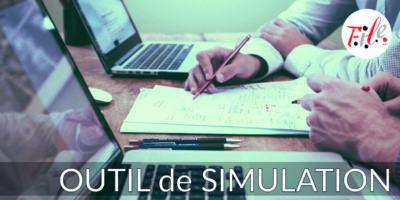 Site A la une Outil Simulation