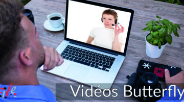Site A la une Video Butterfly