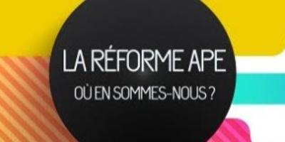 image réforme APE